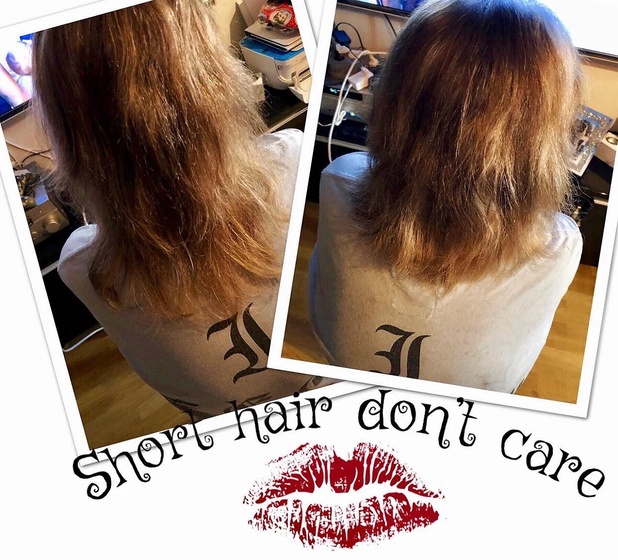 Short hair don't care 💁♀️