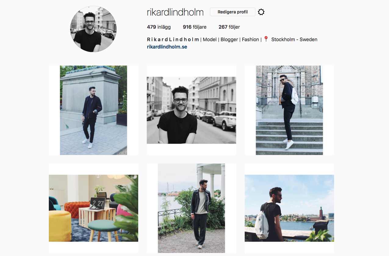 Bildredigering för Instagram