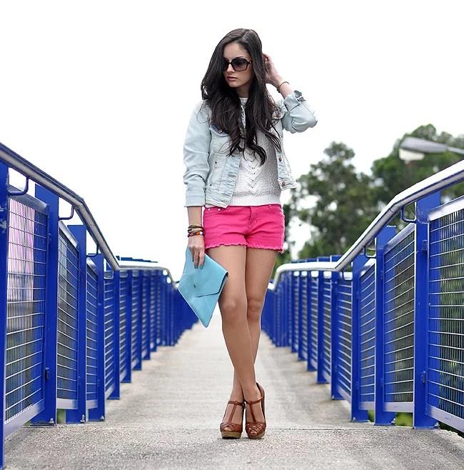 Raspberry Shorts...