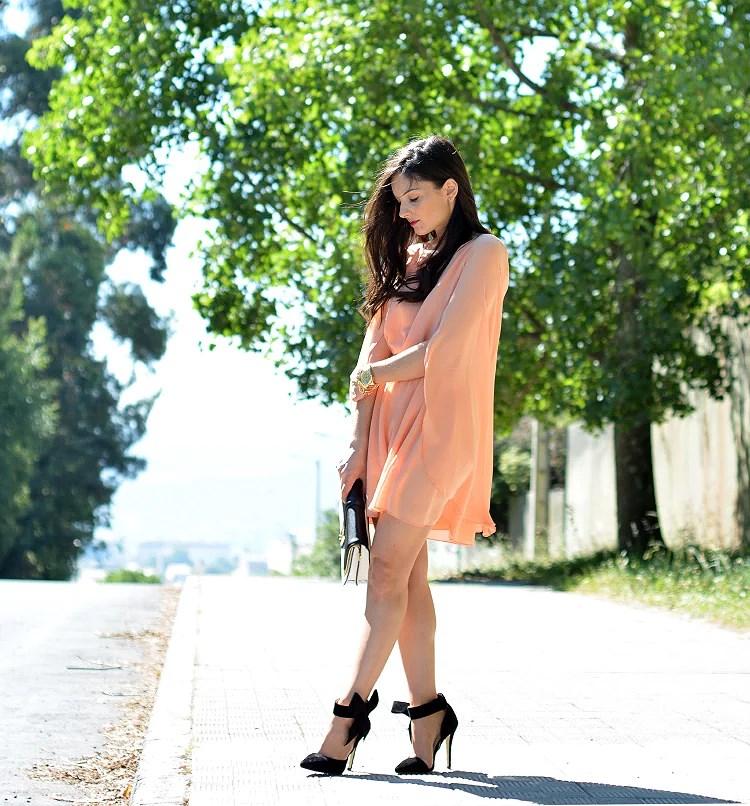 ...Peach Dress...