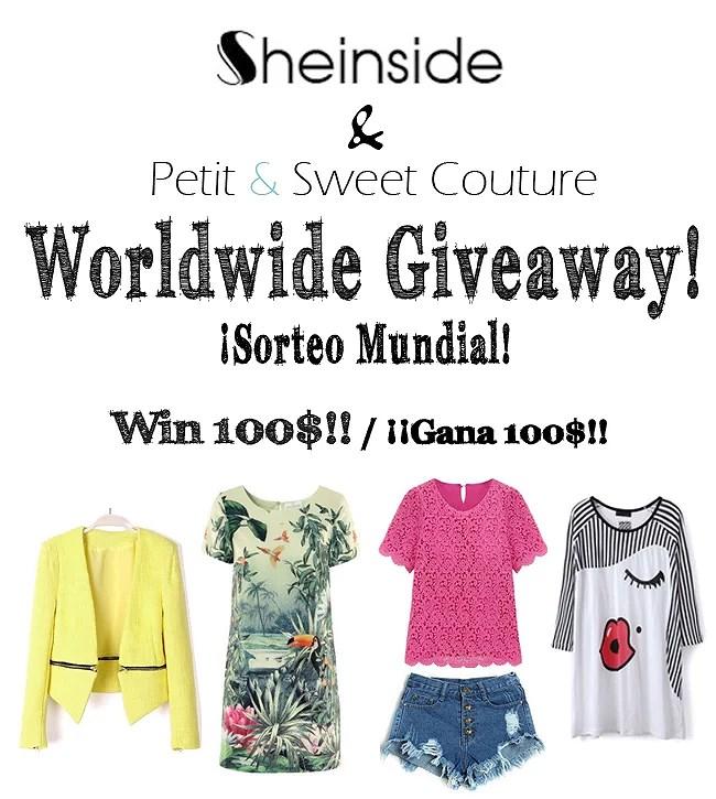 CERRADO - Sheinside Worldwide Giveaway - Win 100$!!