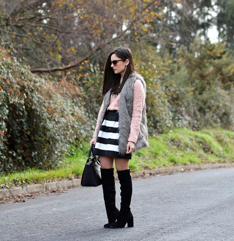 Zara_chaleco_vest_ootd_choies_botas altas_05