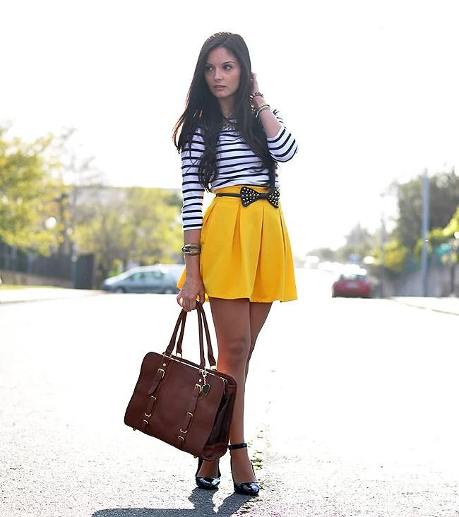 Stripes & Yellow...