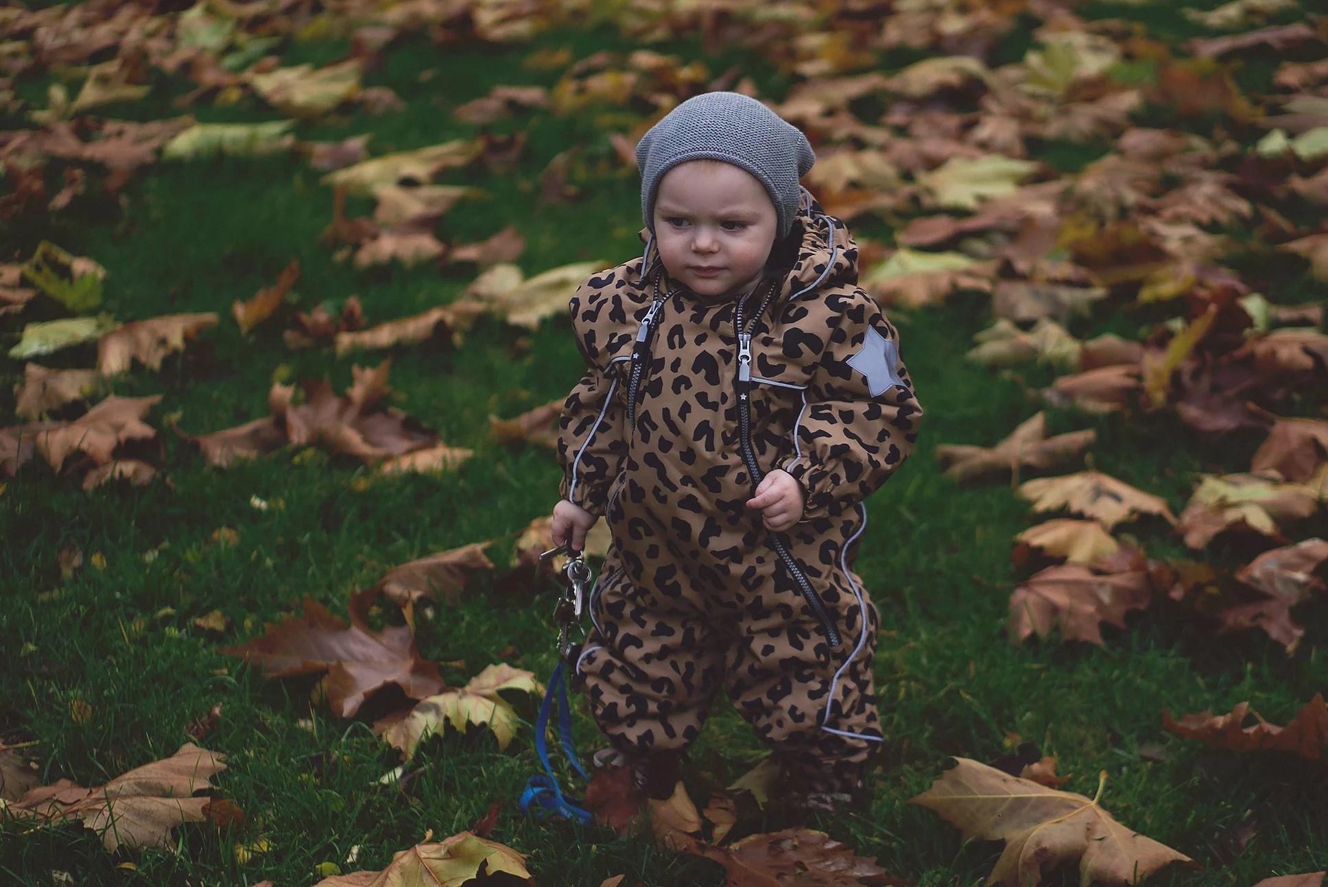 Milo's Leopard Snowsuit