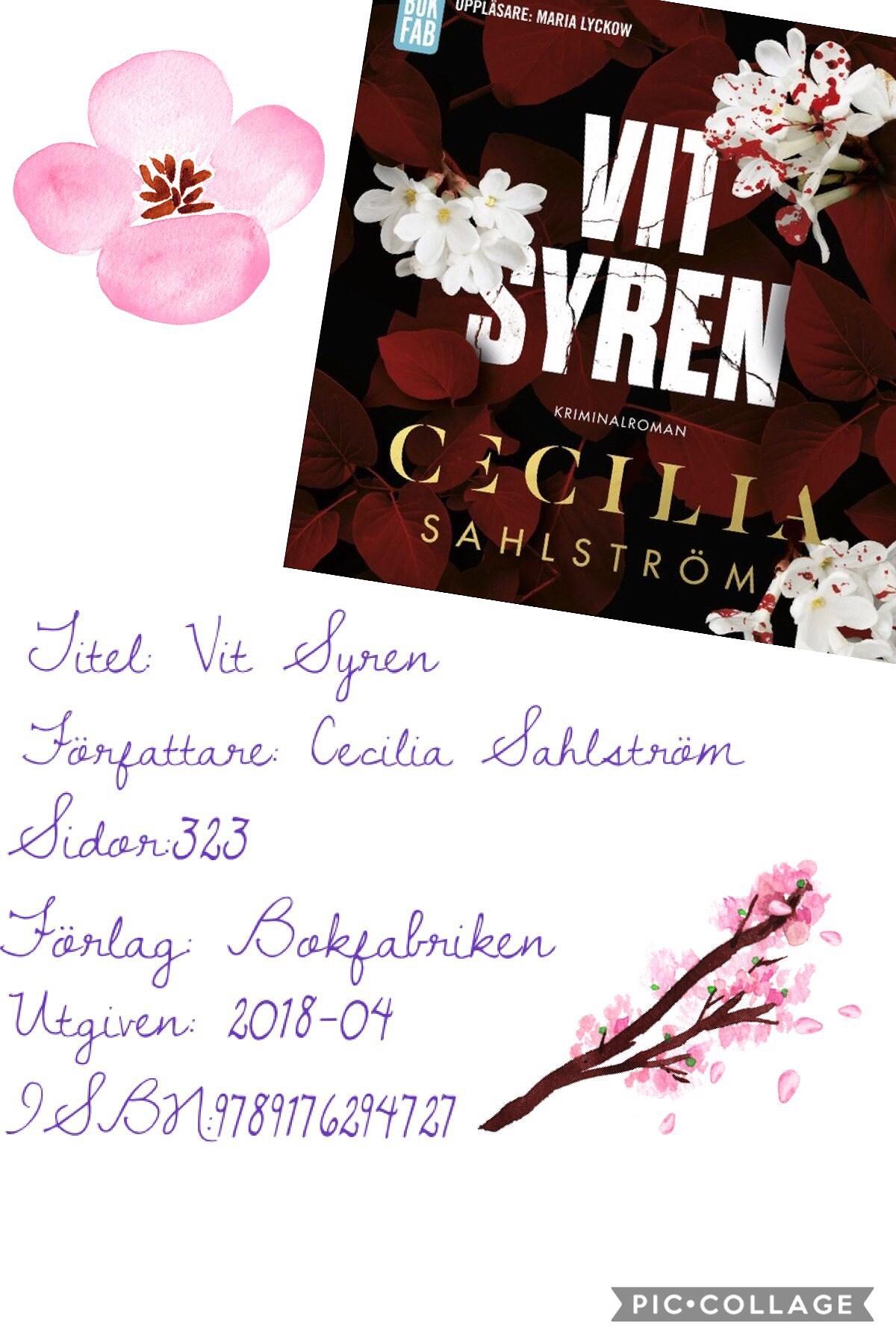 Vit Syren av Cecilia Sahlström