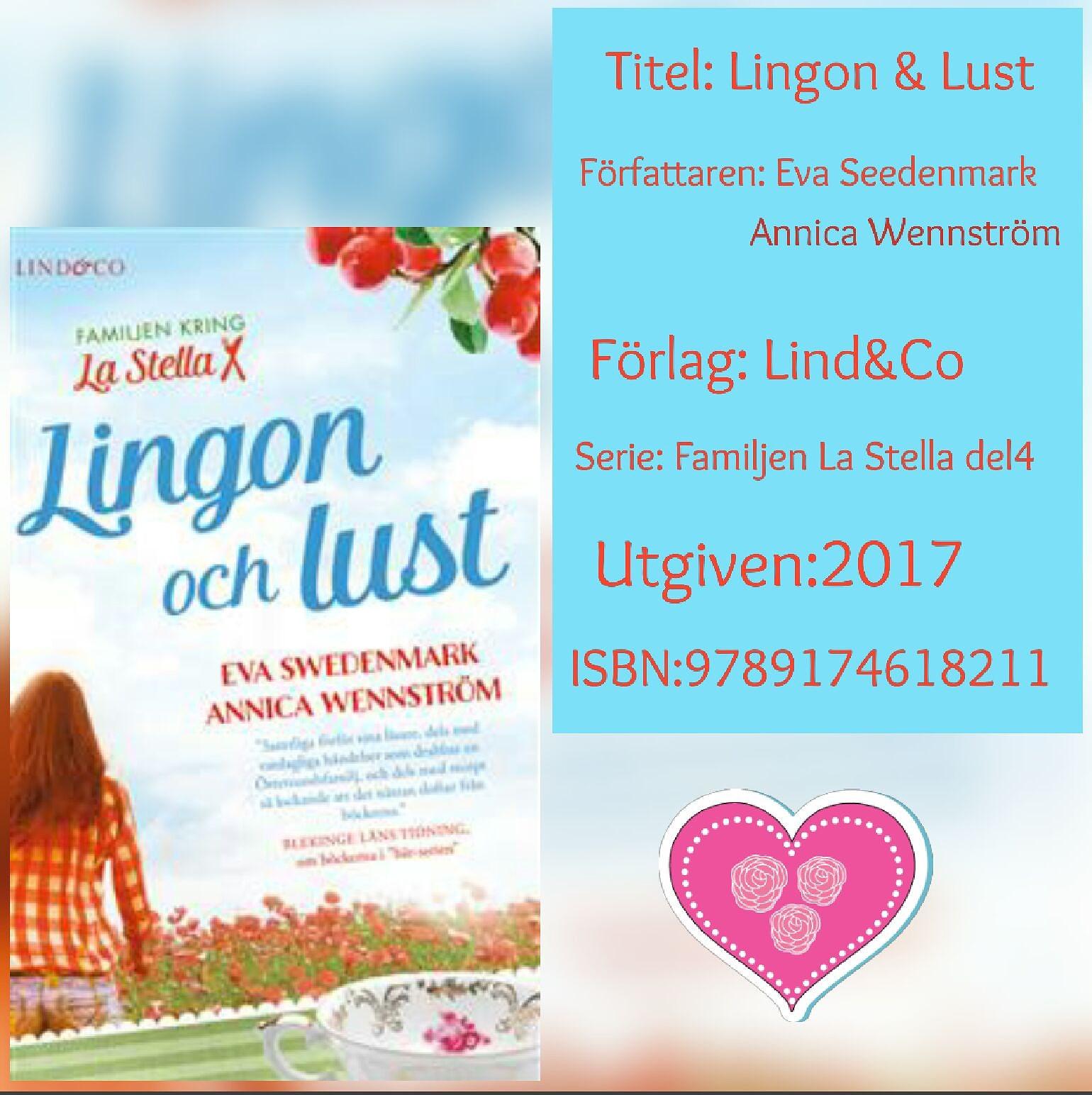 Lingon & Lust - Eva Swedenmark Annica Wennström