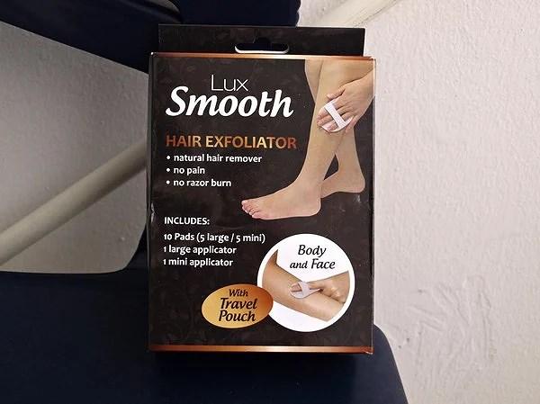 Lux smooth hair exfoliator