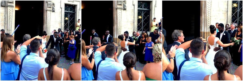 Vi deltok på et ukjent bryllup i Spania