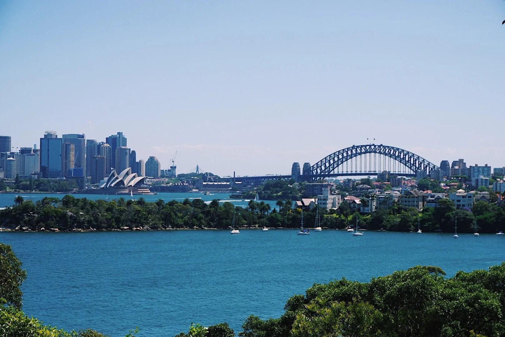 Första månaden i Australien