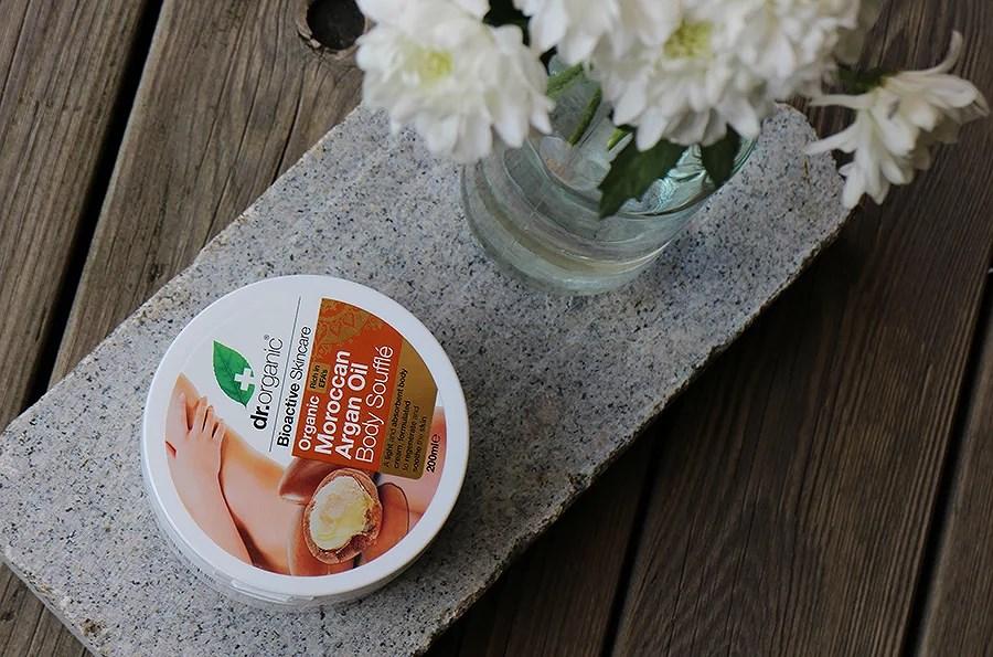 A budget buy: Dr. Organic body butter.