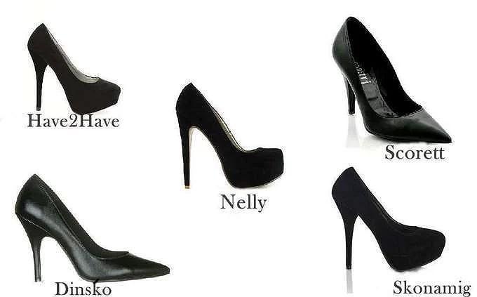 I need black shoes.
