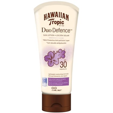 Hawaiian Tropic Duo Defence Sun Lotion SPF 30