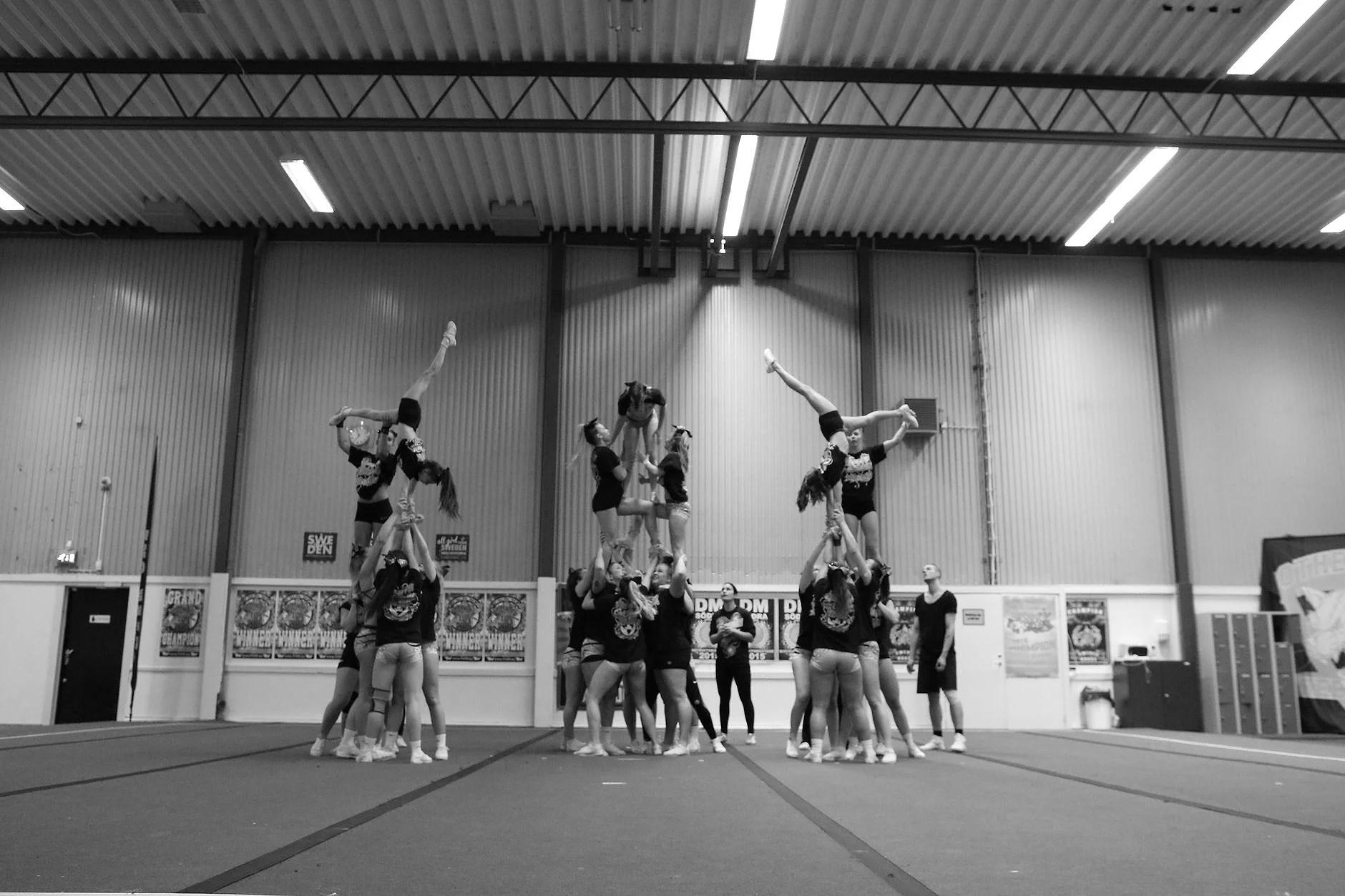 competition week - cheerleading