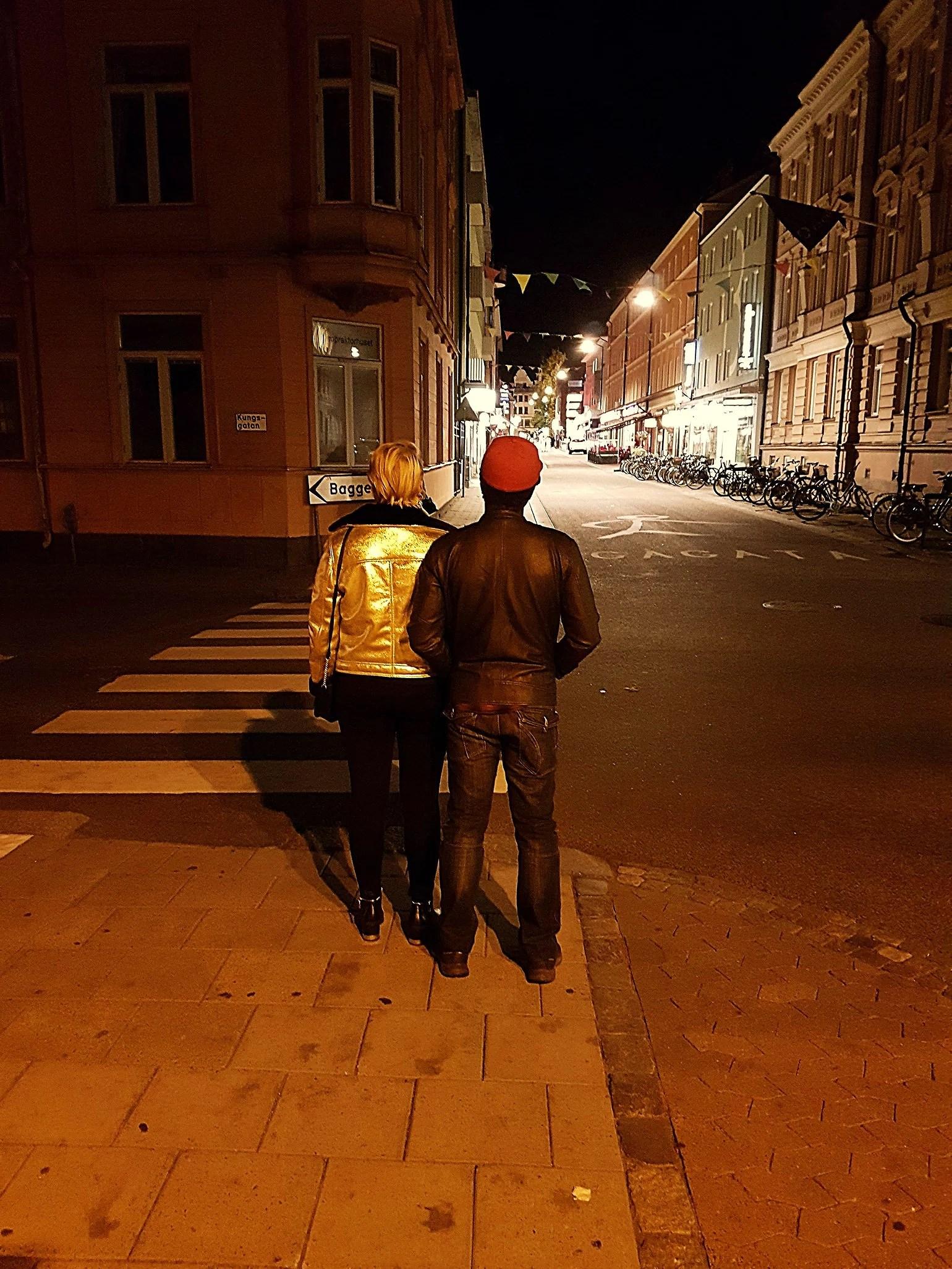 Utgång i Linköping.