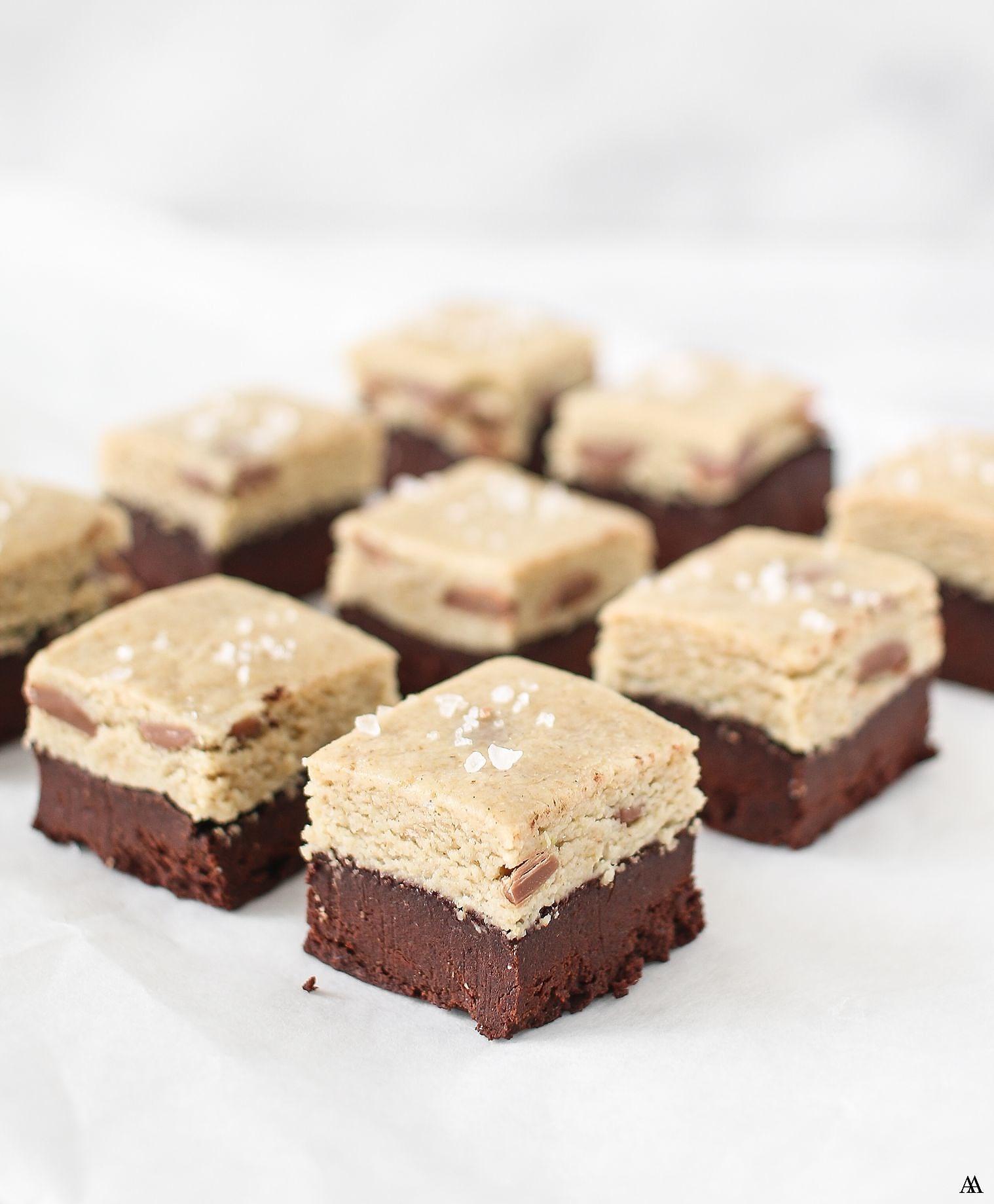 Cookie Brownie Bites