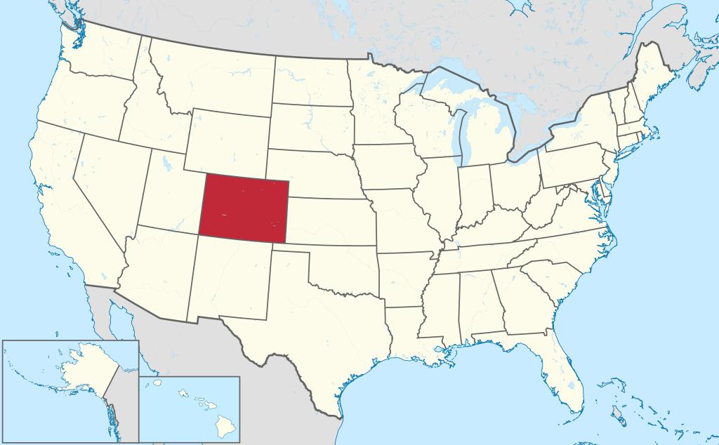 Allmänbildning: Amerikanska delstater: Colorado, New Mexico, Texas