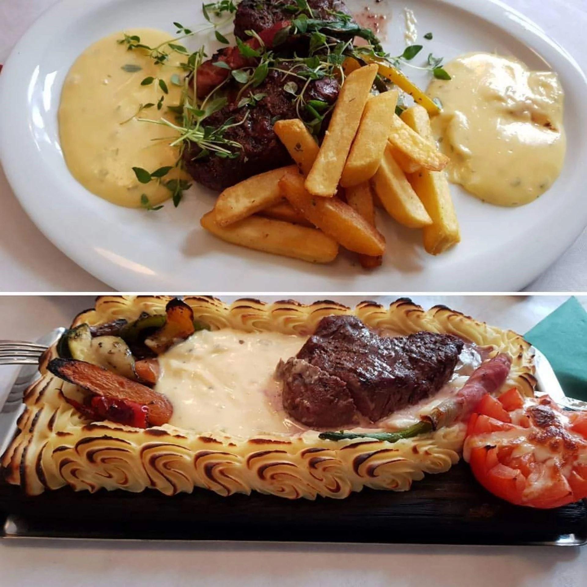 Gómiddag på Toscana bar och kök.