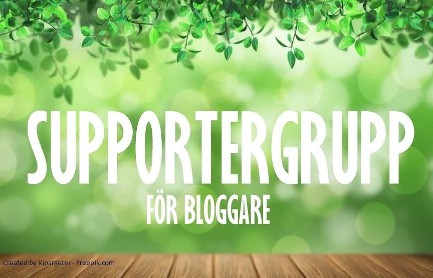 Supportergrupp för bloggare!
