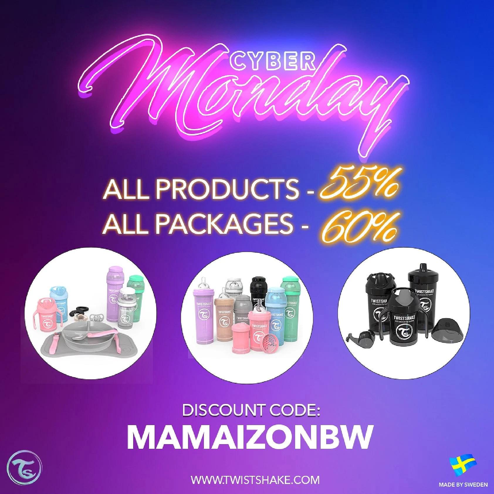 Cyber Monday @twistshakebaby