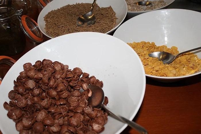 Variedad buffet desayuno