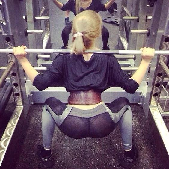 Ufrivillig halvnakenhet på gymmet