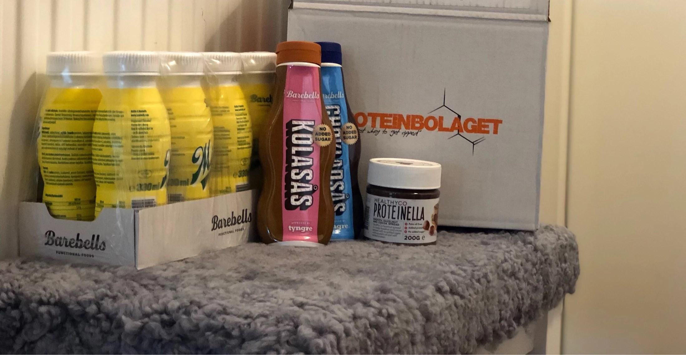 Paket från Proteinbolaget