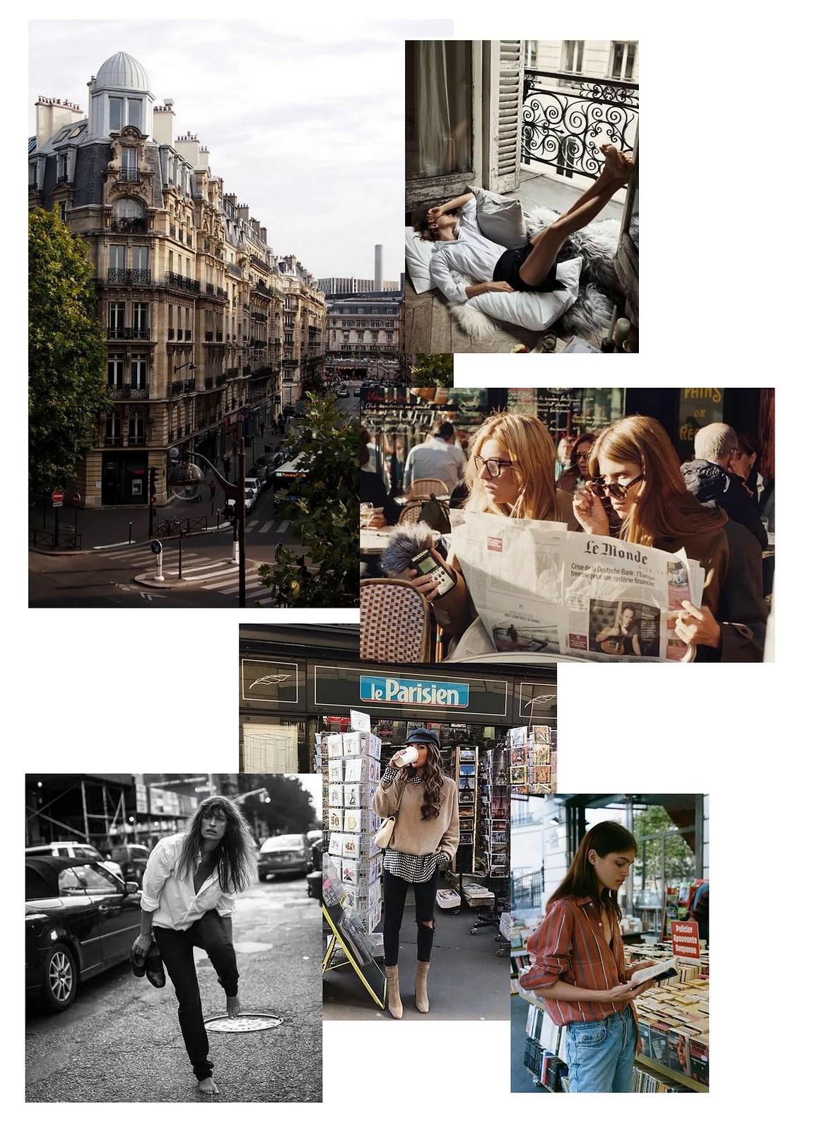 Parisian moodboard