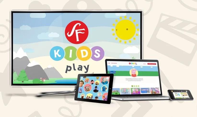 2 månader fri SF Kids med rabattkod