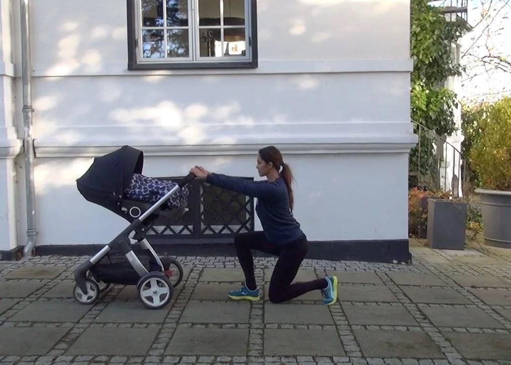 Træning med Baby i barnevognen