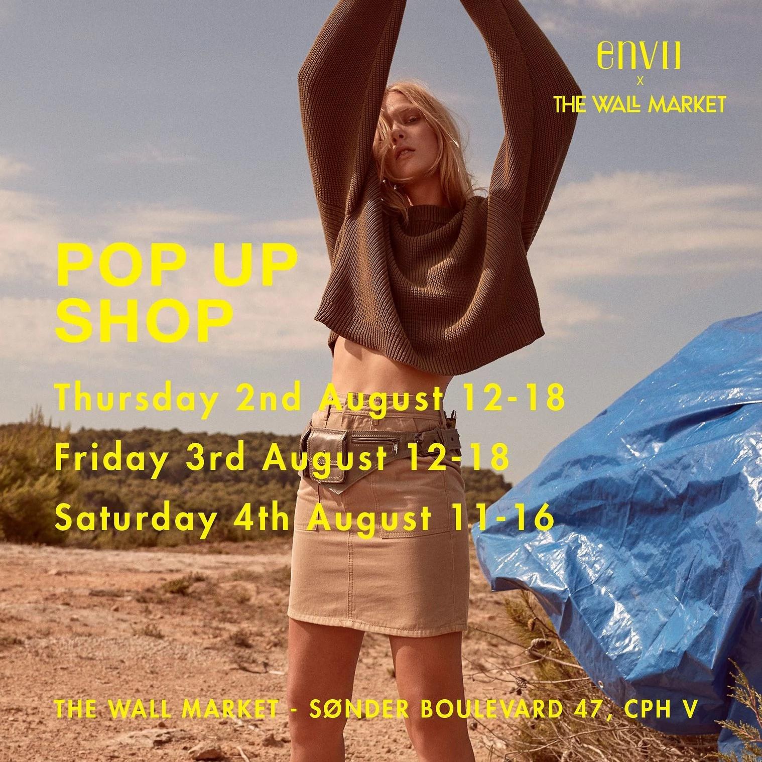 ENVII X THE WALL MARKET POP UP SHOP