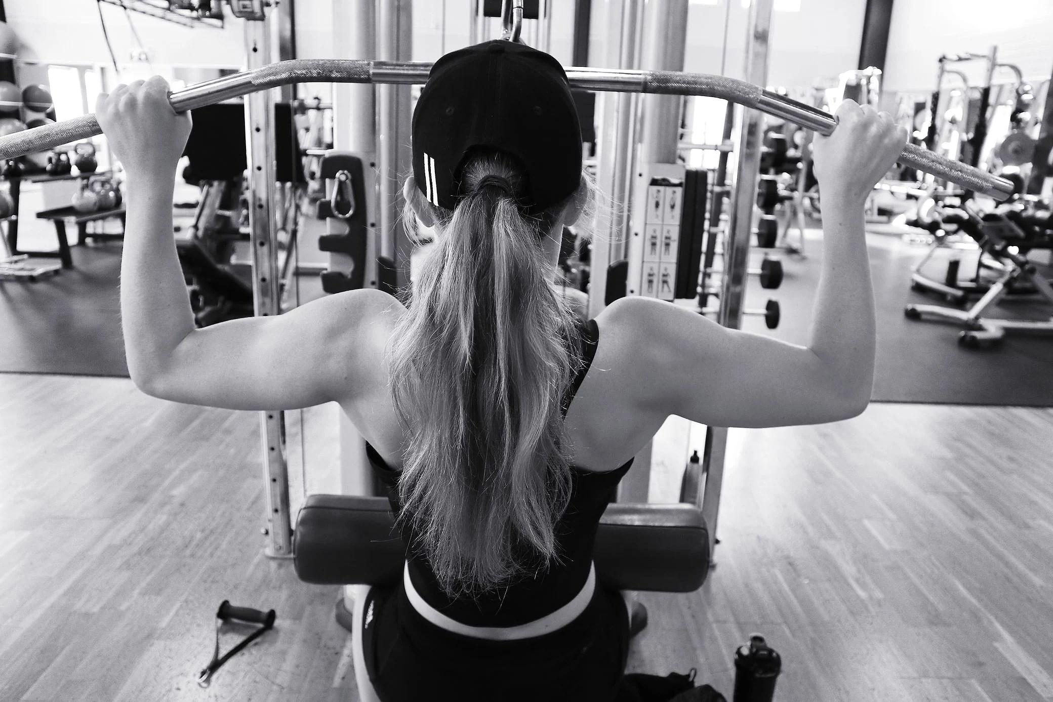 Rygg och biceps