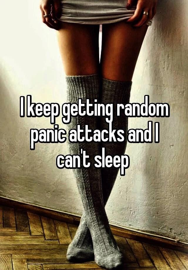 Haft panik attacker hela natten 👎🏻