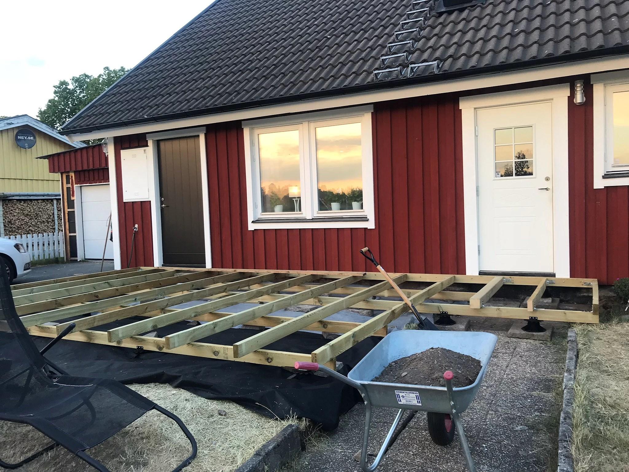 Ny framsida under uppbyggnad