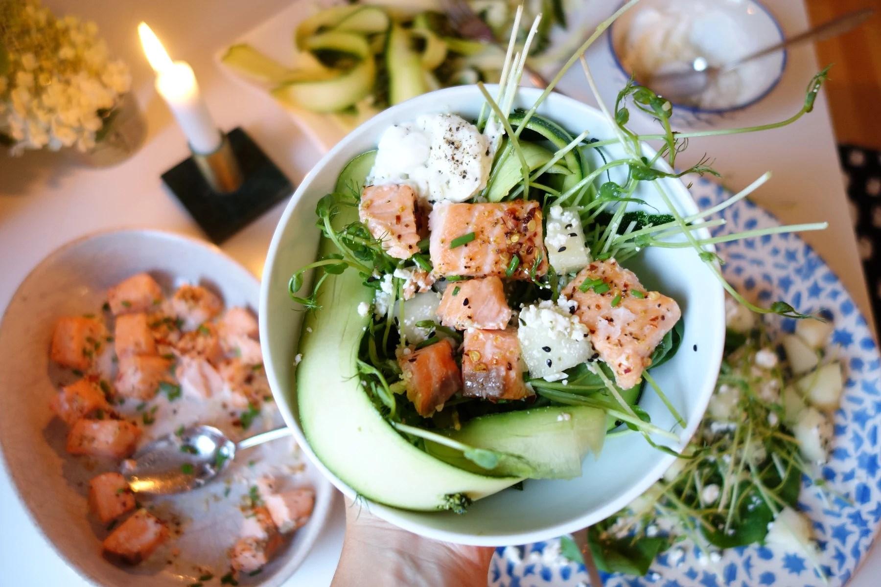 Hälsofördelar med LAX for dinner!