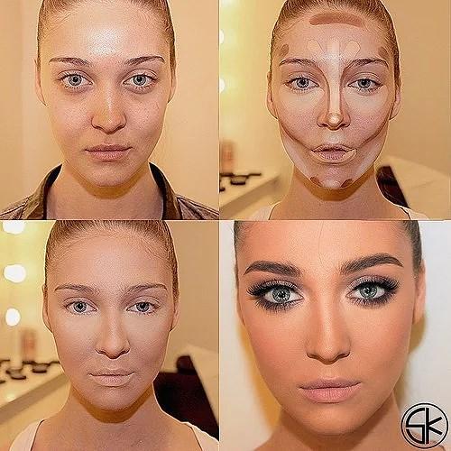 Фото как меняет людей макияж