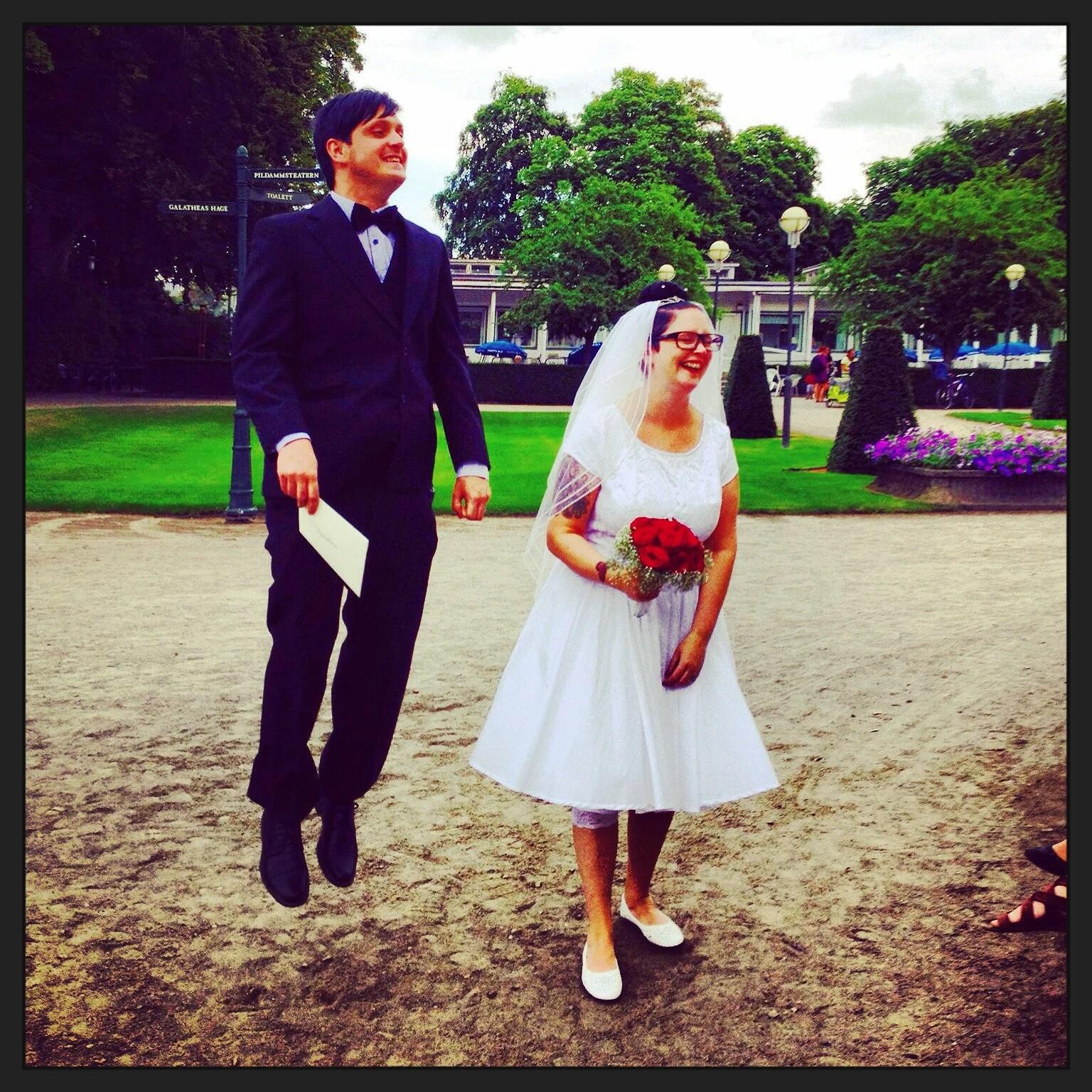 Träbröllop!