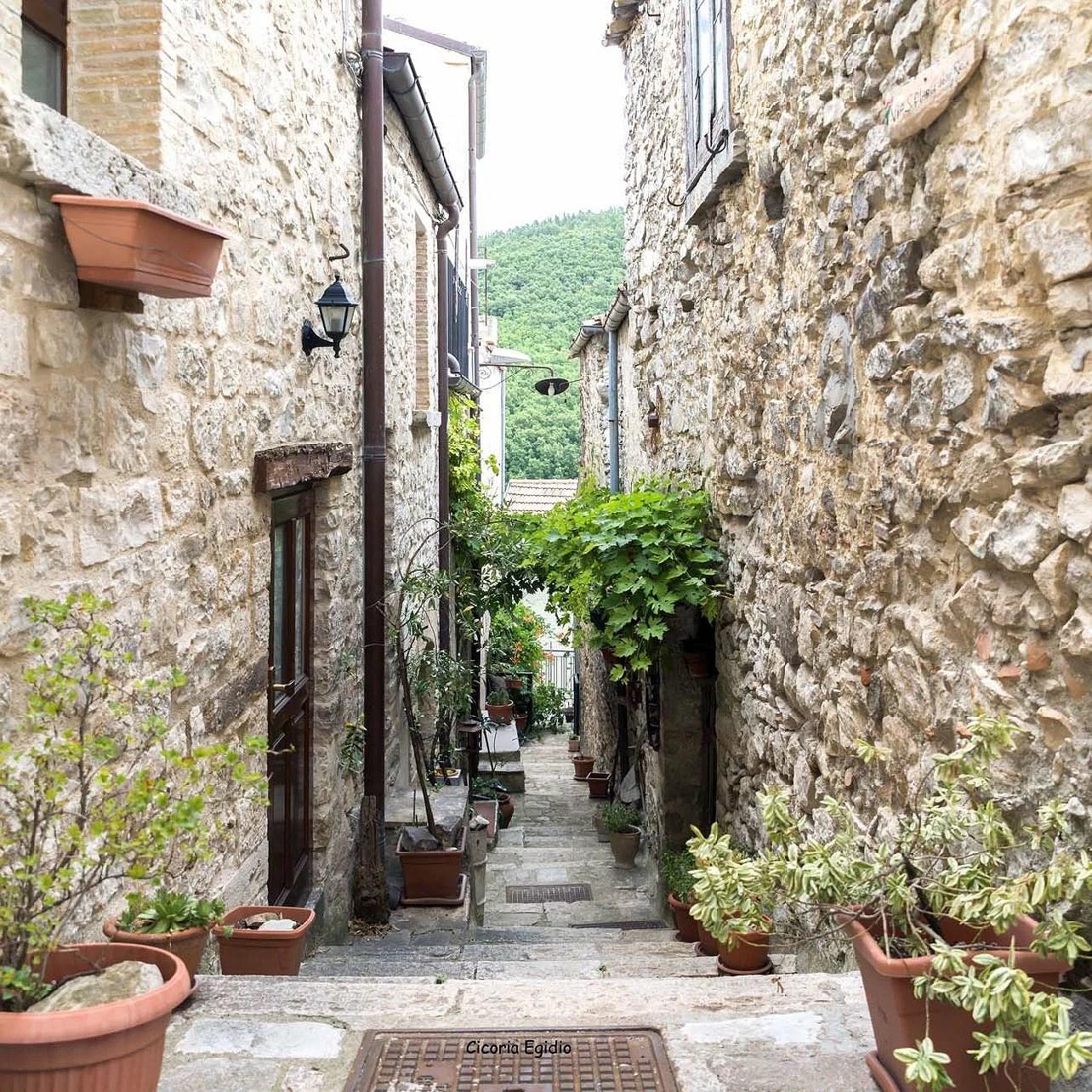 Bonefro i regionen Molise i Italien