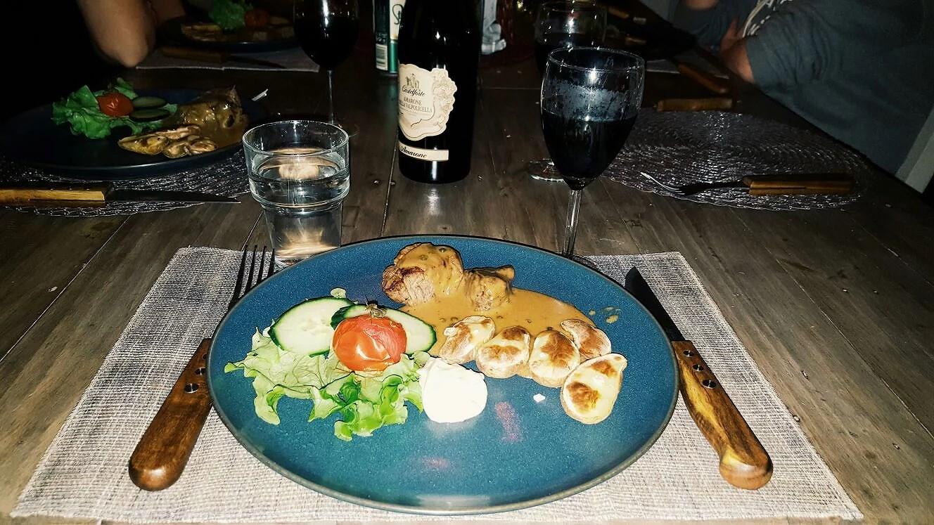 yesterdays dinner