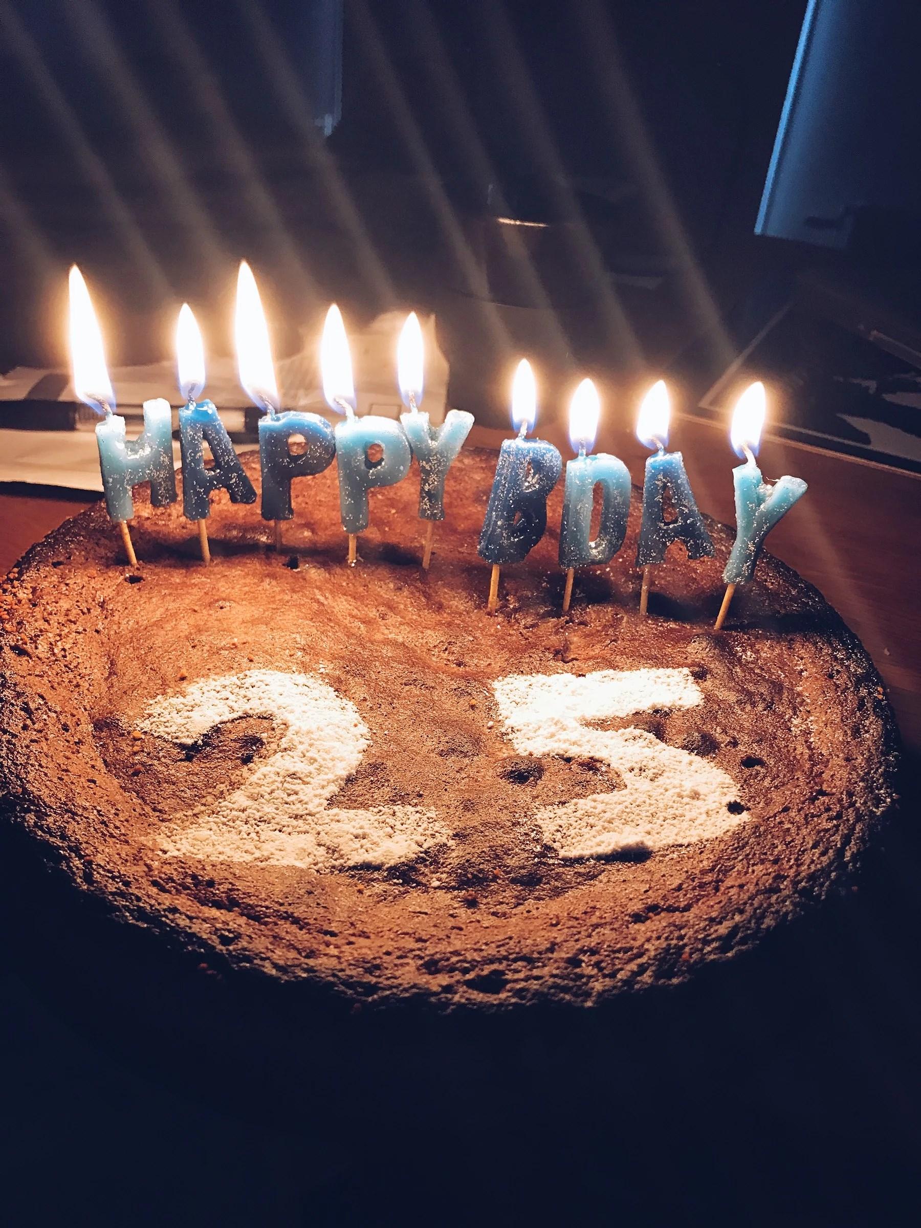 HAPPY 25TH BIRTHDAY!!