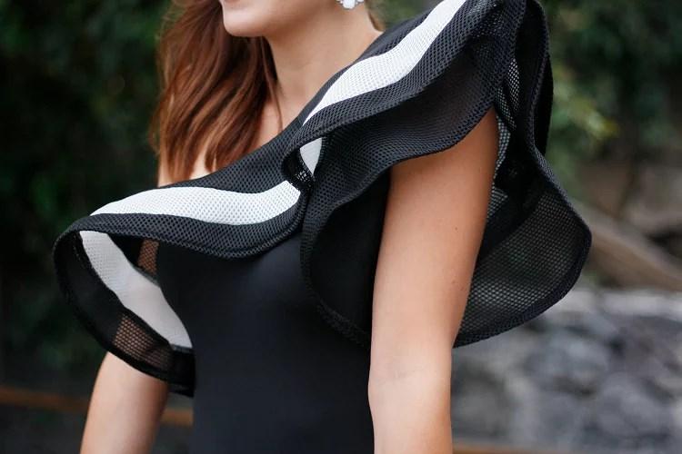 La elegancia se viste de blanco y negro