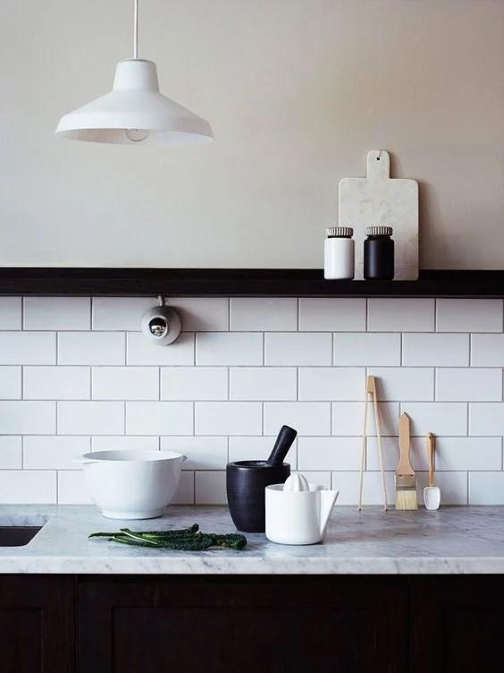 Deco: Cocinas con mármol blanco