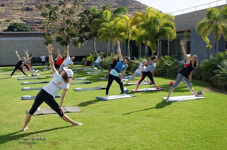 Mi 1º clase de Yoga con Iberostar Hotel Mencey