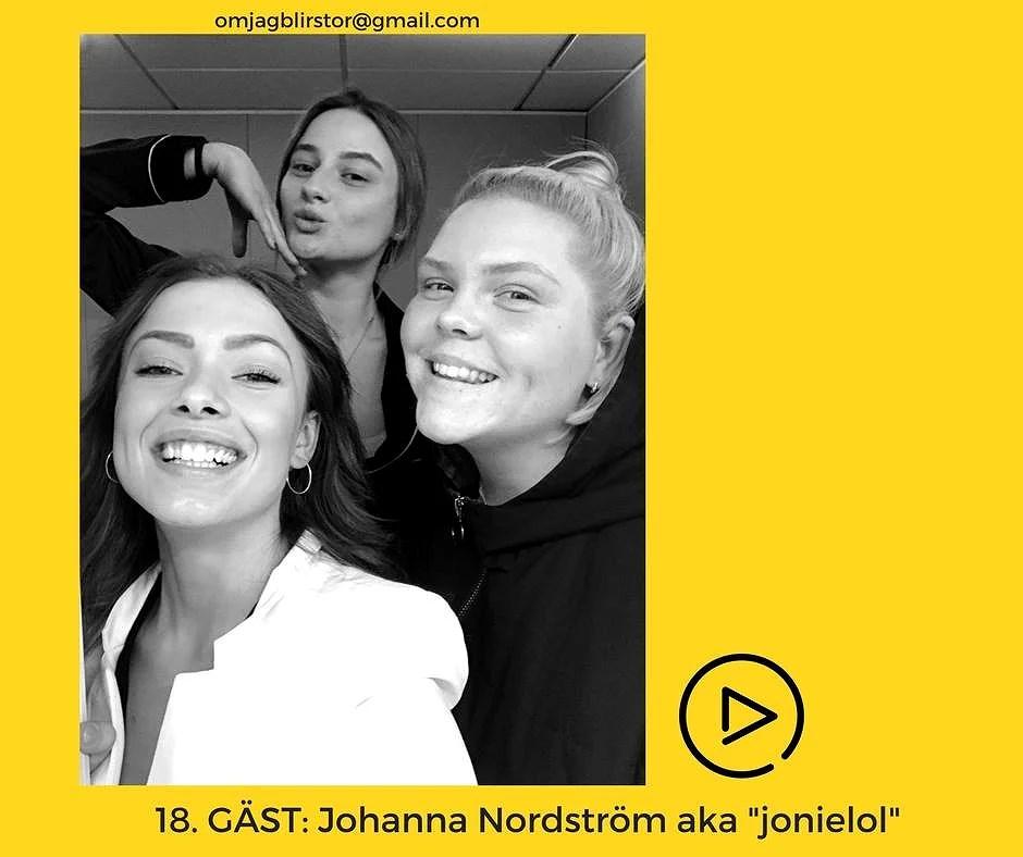 """Avsnitt 18. GÄST: Johanna Nordström aka """"jonielol"""""""