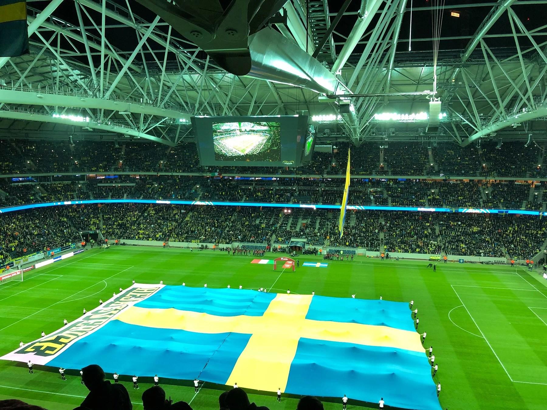 Sverige - italien 2017
