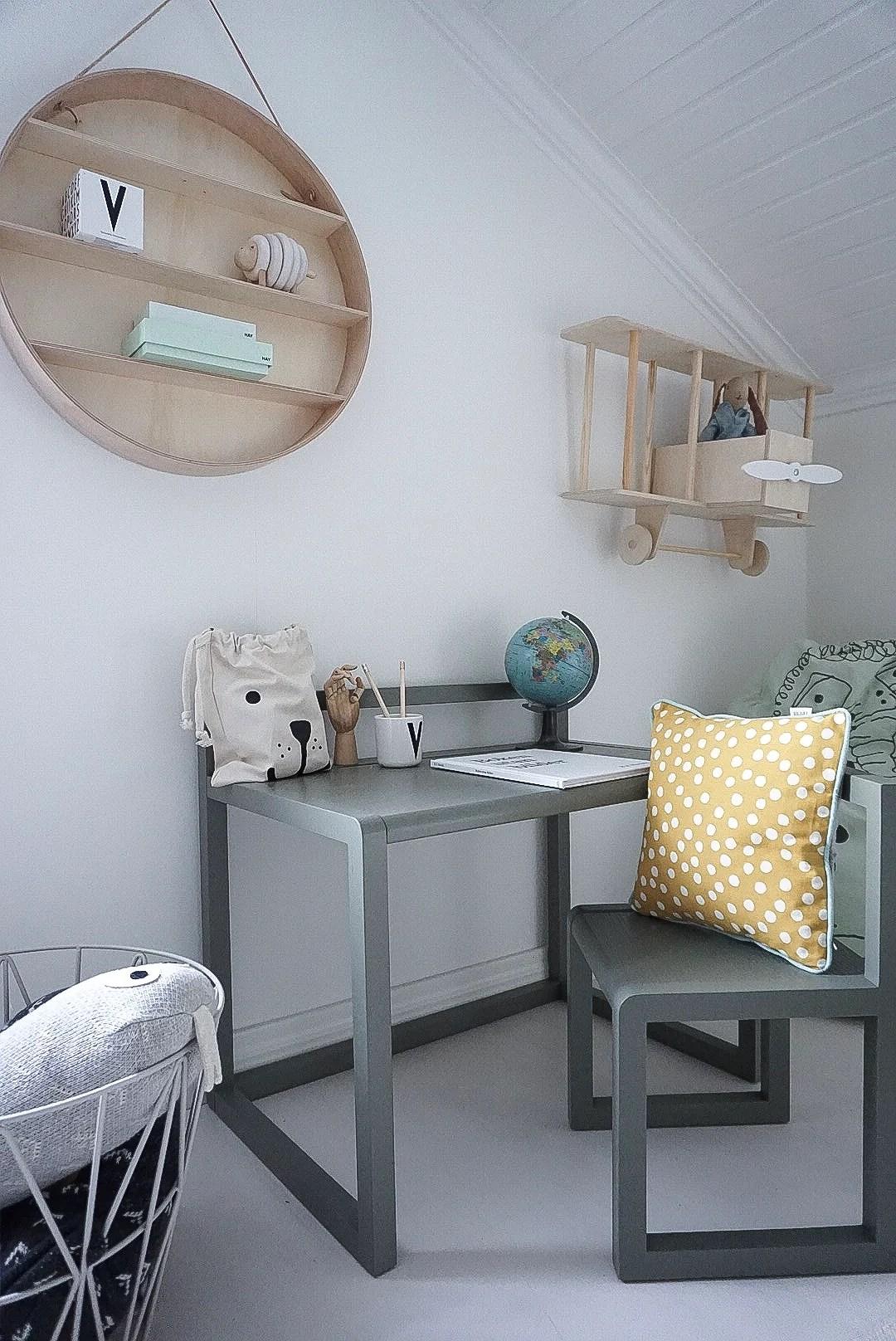 En liten skrivbordshörna
