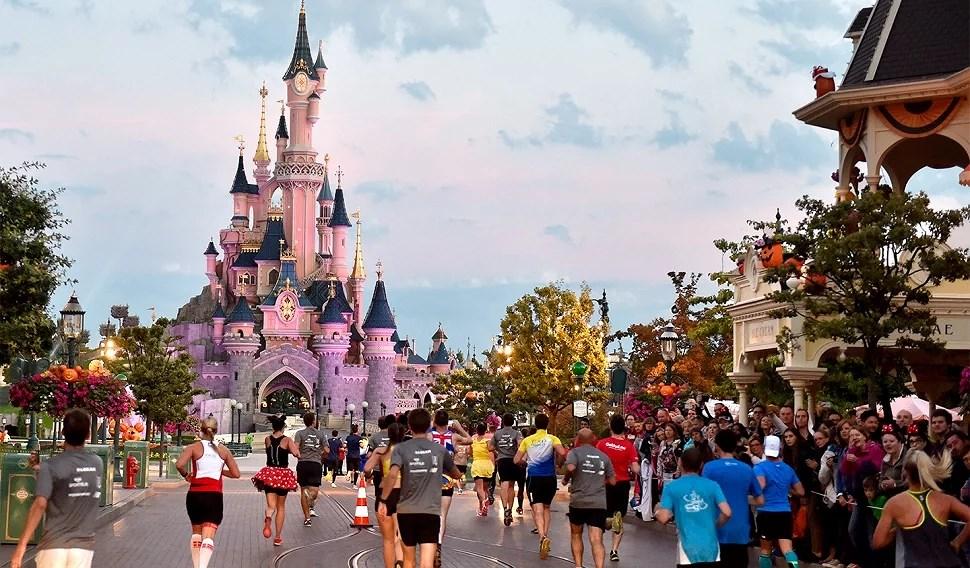 Halvmaraton och andra lopp på Disneyland Paris
