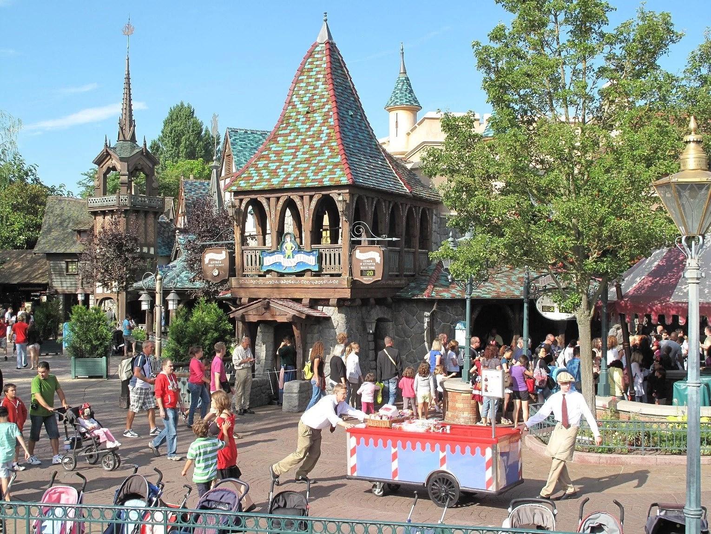 Attraktioner på Disneyland Paris: Peter Pan's Flight