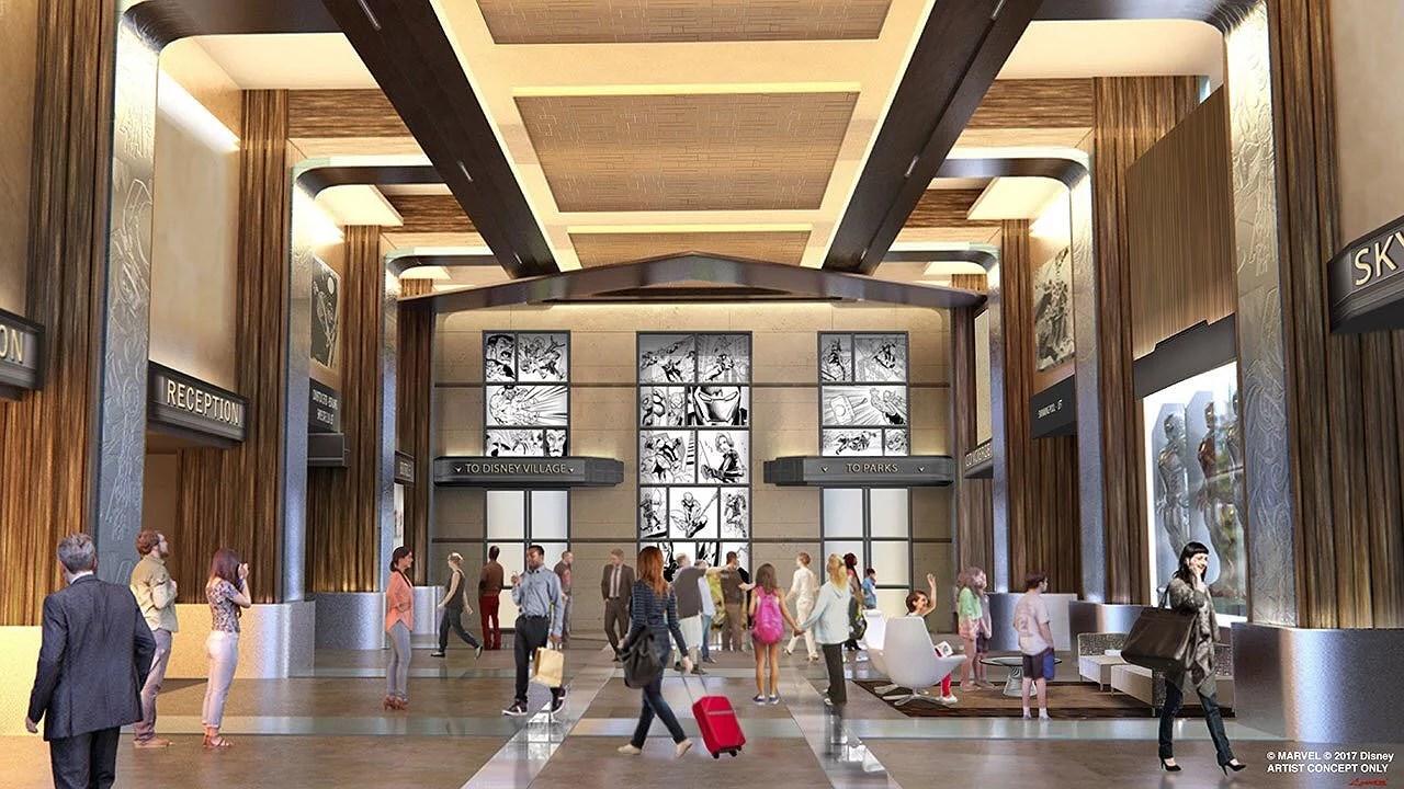 Disney's Hotel New York får Marvel tema