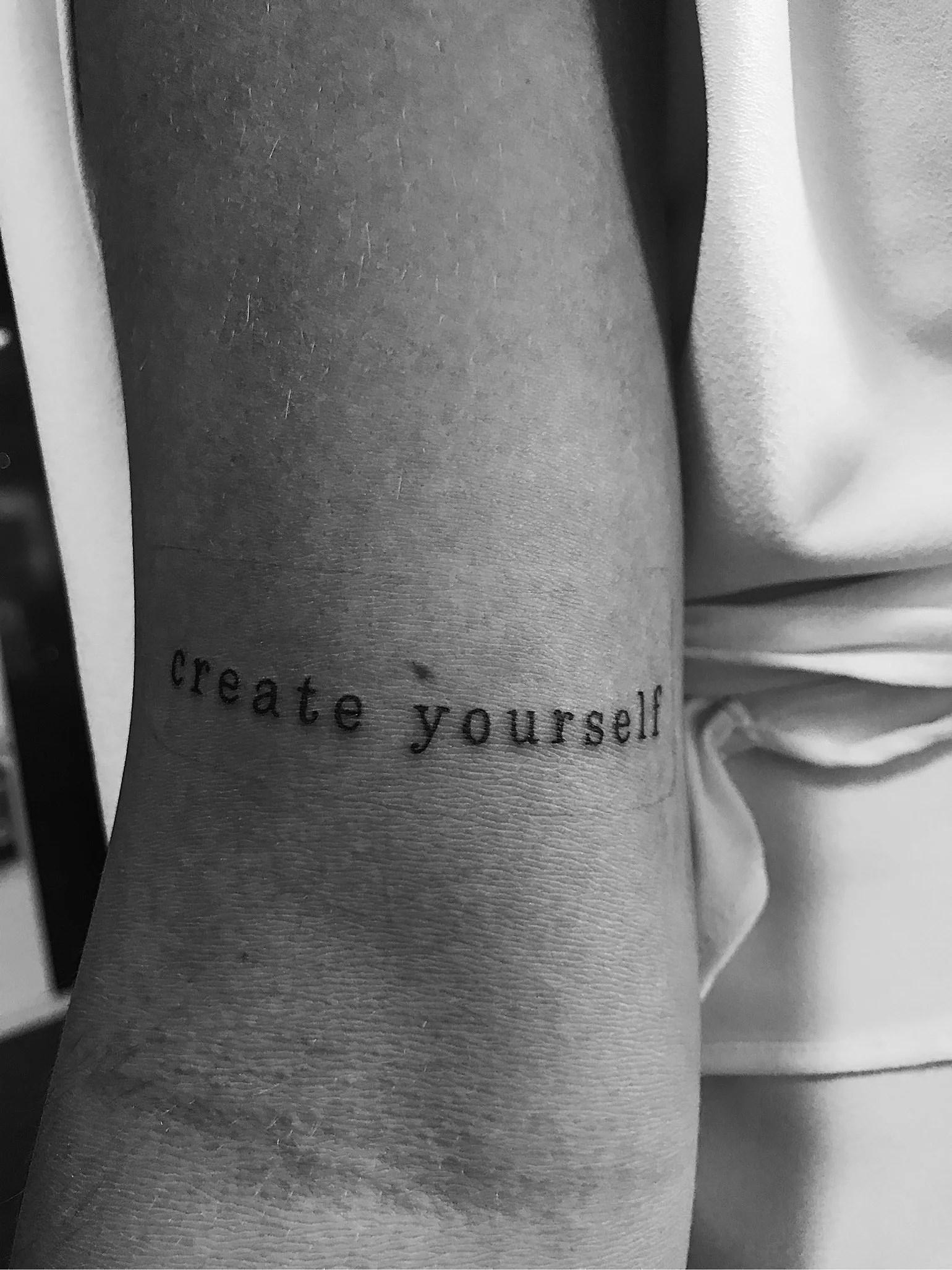Min första tatuering