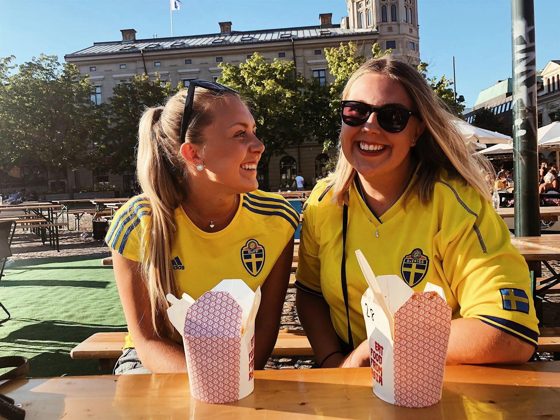 Sverige till kvartsfinal !!